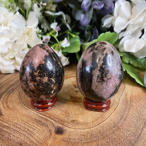 Rhodonite Altar Eggs