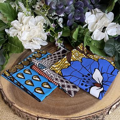 African Fabric Card Cloth I