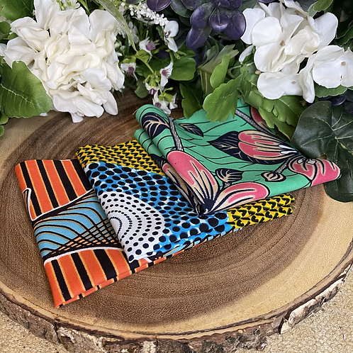 African Fabric Card Cloth VI