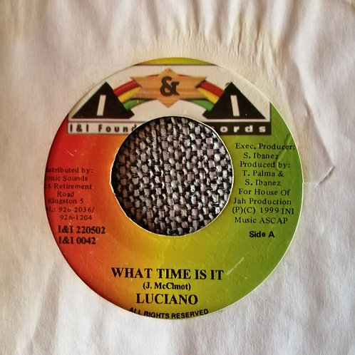 Luciano - What time is it