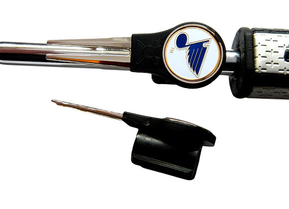 Putter Mounted Divot Tool and Ball Marker-BLUES