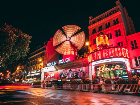 A Trip to Paris + the Moulin Rouge