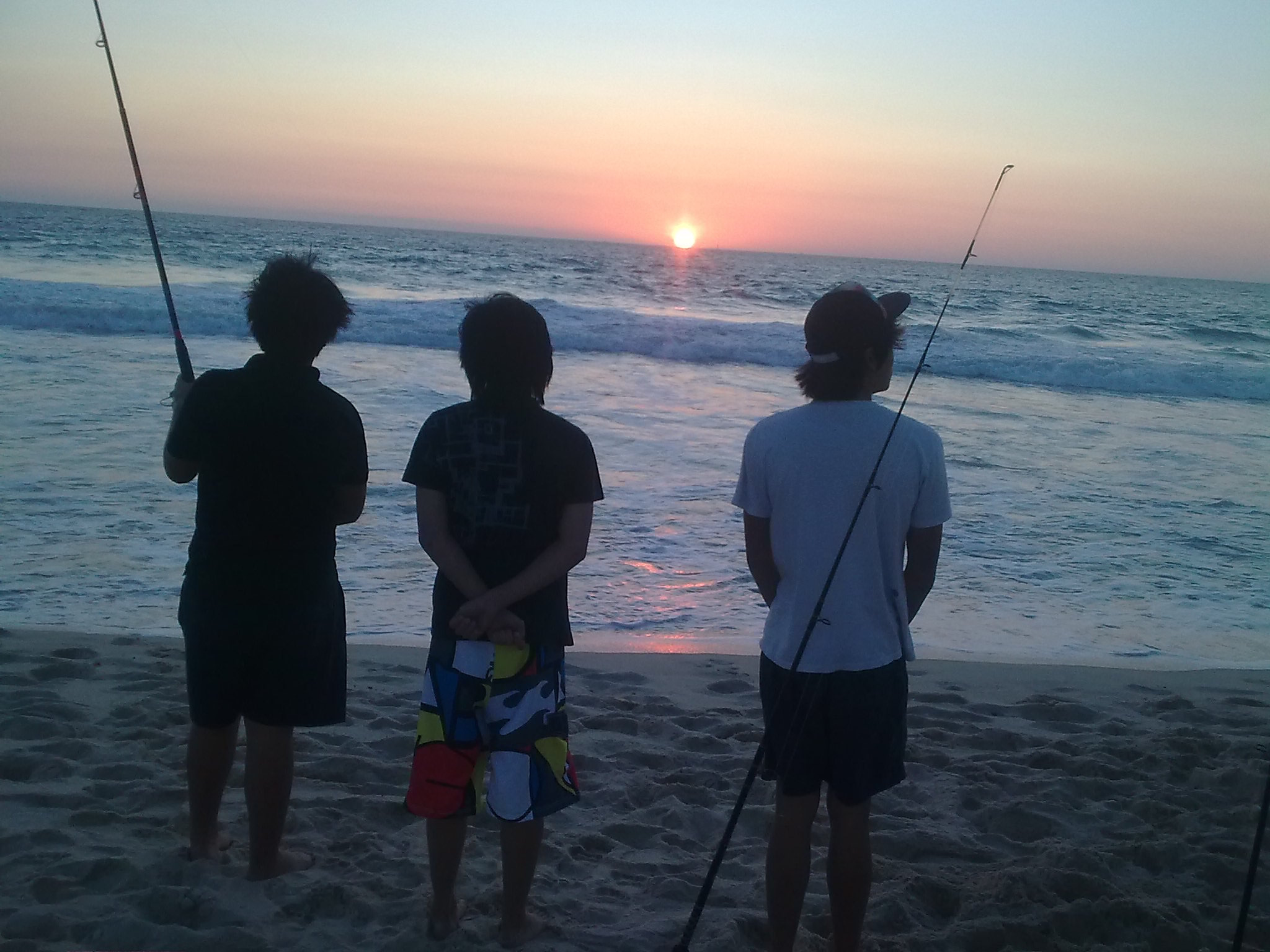 Guys Fishing