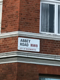 Corner of Abbey Road