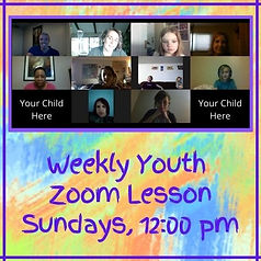 Copy of Youth Zoom Lesson Mondays, 7_00