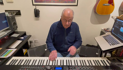 The Famous E Electric Piano - Mulberry Street Solo