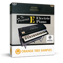 THE FAMOUS E ELECTRIC PIANO Final Box De
