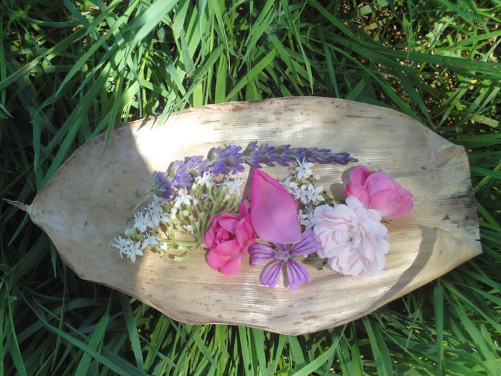 Offrandes fleuries