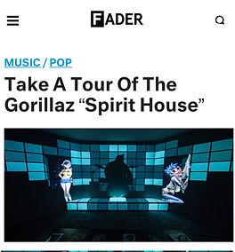 Fader Gorillaz Spirit House