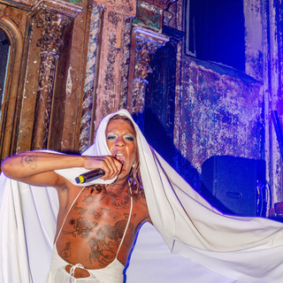 Mykki Blanco at them.'s 2019 Queeroes Pa