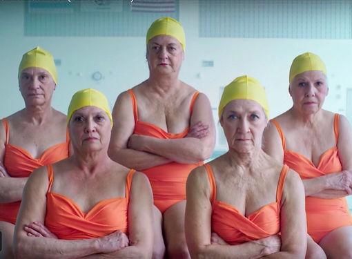 Grannies Swim