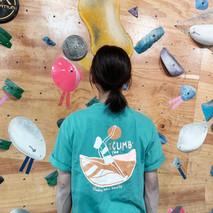 """神秘攀石女子團體 """"Climbing Ladies Sorority"""" 簡稱 """"CLS""""  同Project_ 特別聯乘的第一件限定T-shirt"""