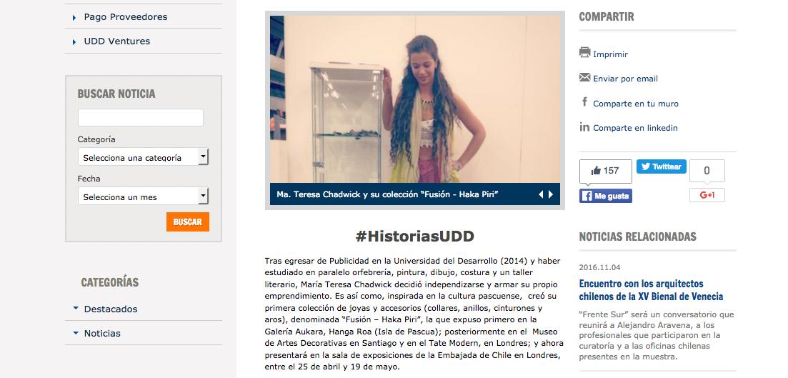 UDD - 04/17 - Chile