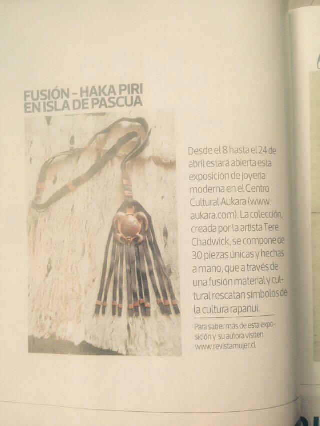 Revista Mujer - 04/16 - Chile
