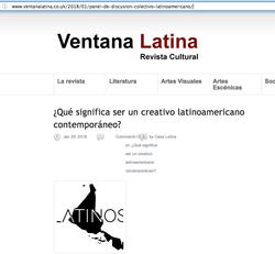 Ventana Latina - 01/18 – UK