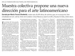 El Mercurio – 08/18 – Chile