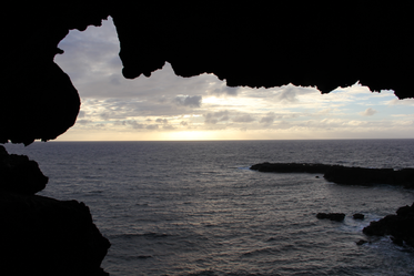 Two windows cave