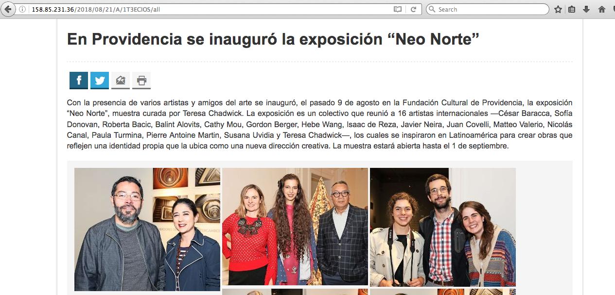 La Segunda Online - 08/18 – Chile
