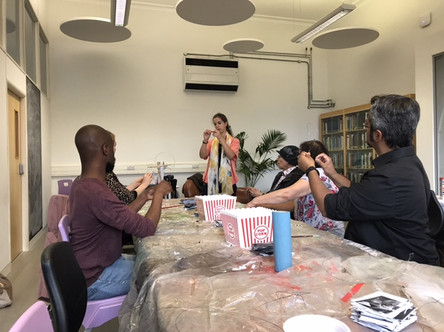 The Fragility of Culture in a Disposable World Papier-Mâché Workshop & Guided Visit