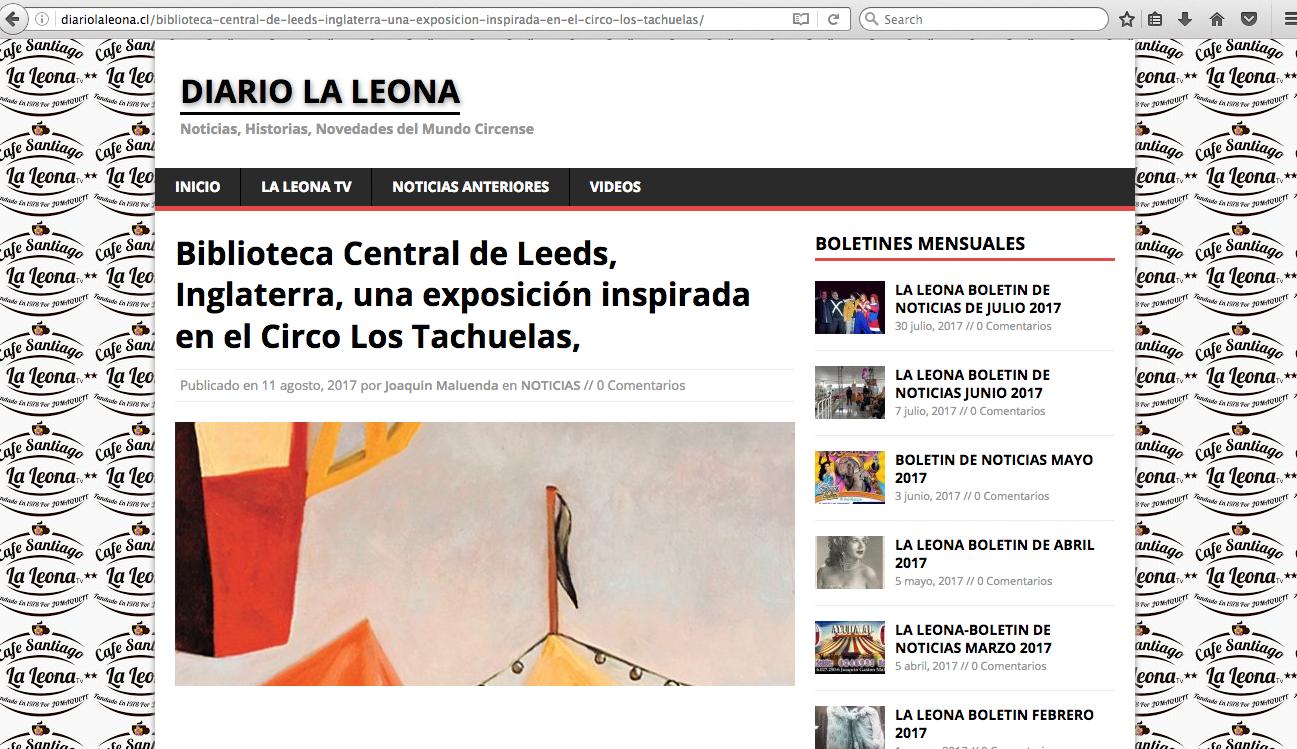 Diario la Leona - 08/17 - Chile