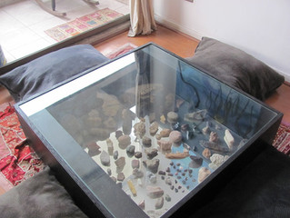 Table + Rocks