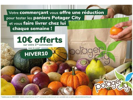 Partenaire POTAGER CITY !