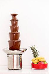 fontaine en chocolat valrhona evenement