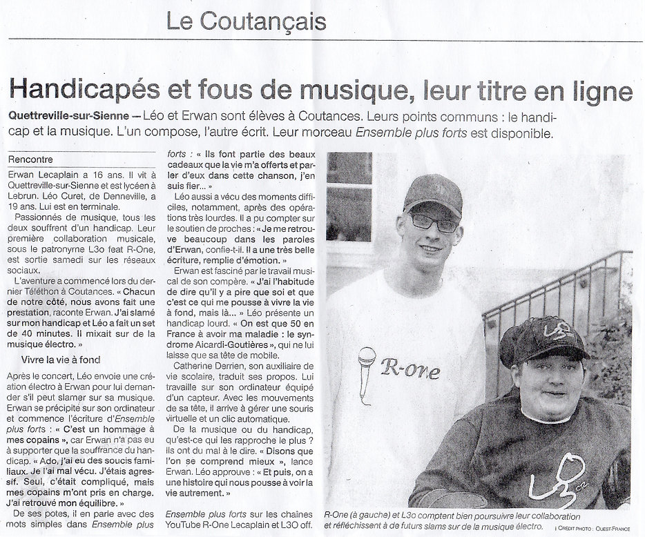 L3O - R One -- Ouest France Mars 2019.jp