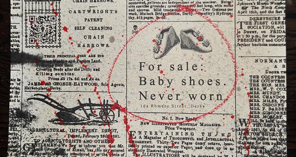 For sale: baby shoes, never worn