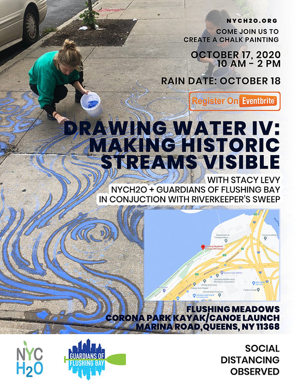 water art, making historic streams visible, Stacy Levy