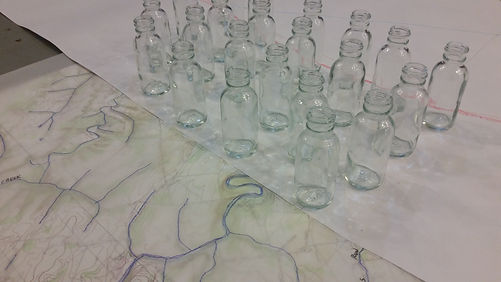 Towson bottles_draft_Stacy_Levy_eco_art.