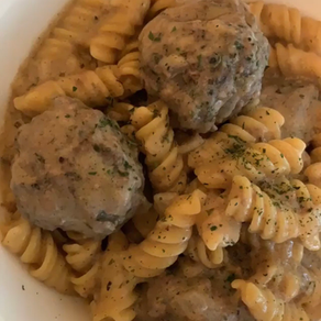 Clean Eating Swedish Meatballs