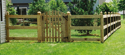 paddock style fence