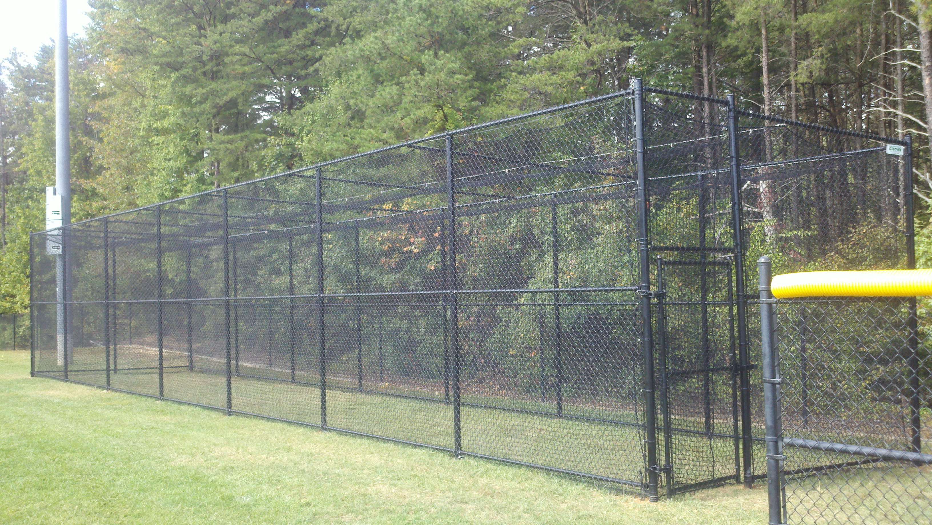 Crown Fence | Chain Link Cage
