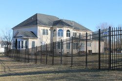 Crown Fence | Iron Fencing