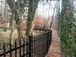 Crown Fence Iron Fencing