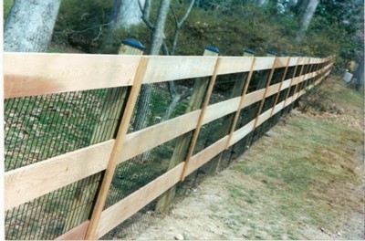 paddock style fence