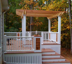 Composite Deck and Gazebo