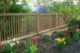 Wood Fence installed by Crown Enterprises