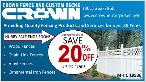 Low price fences and decks