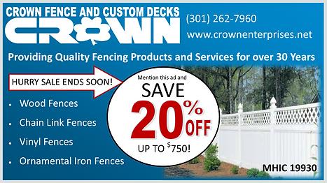 Low price fences and decks