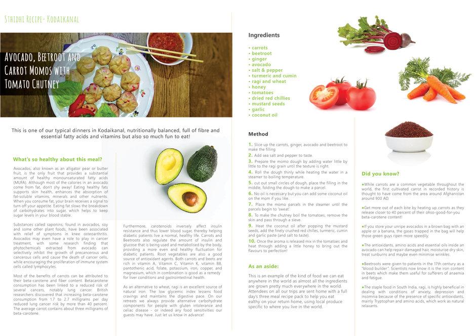 Sthidhi kodaikanal Recipe