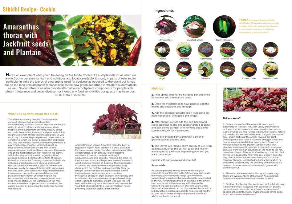 Sthidhi Cochin Recipe