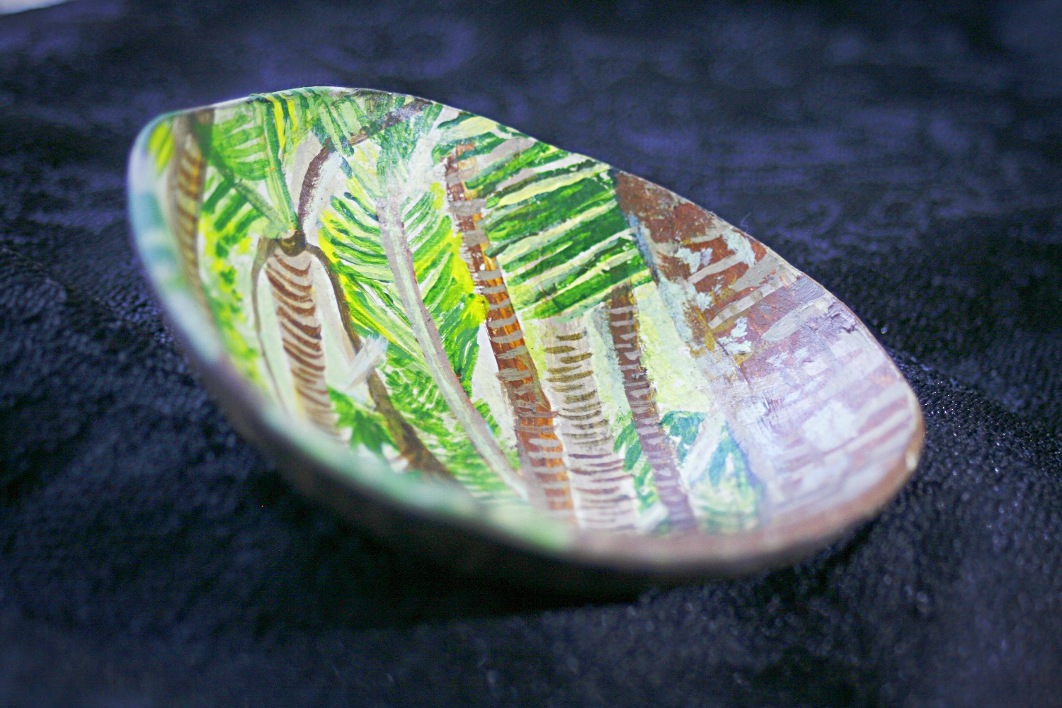 Coconut painting 2