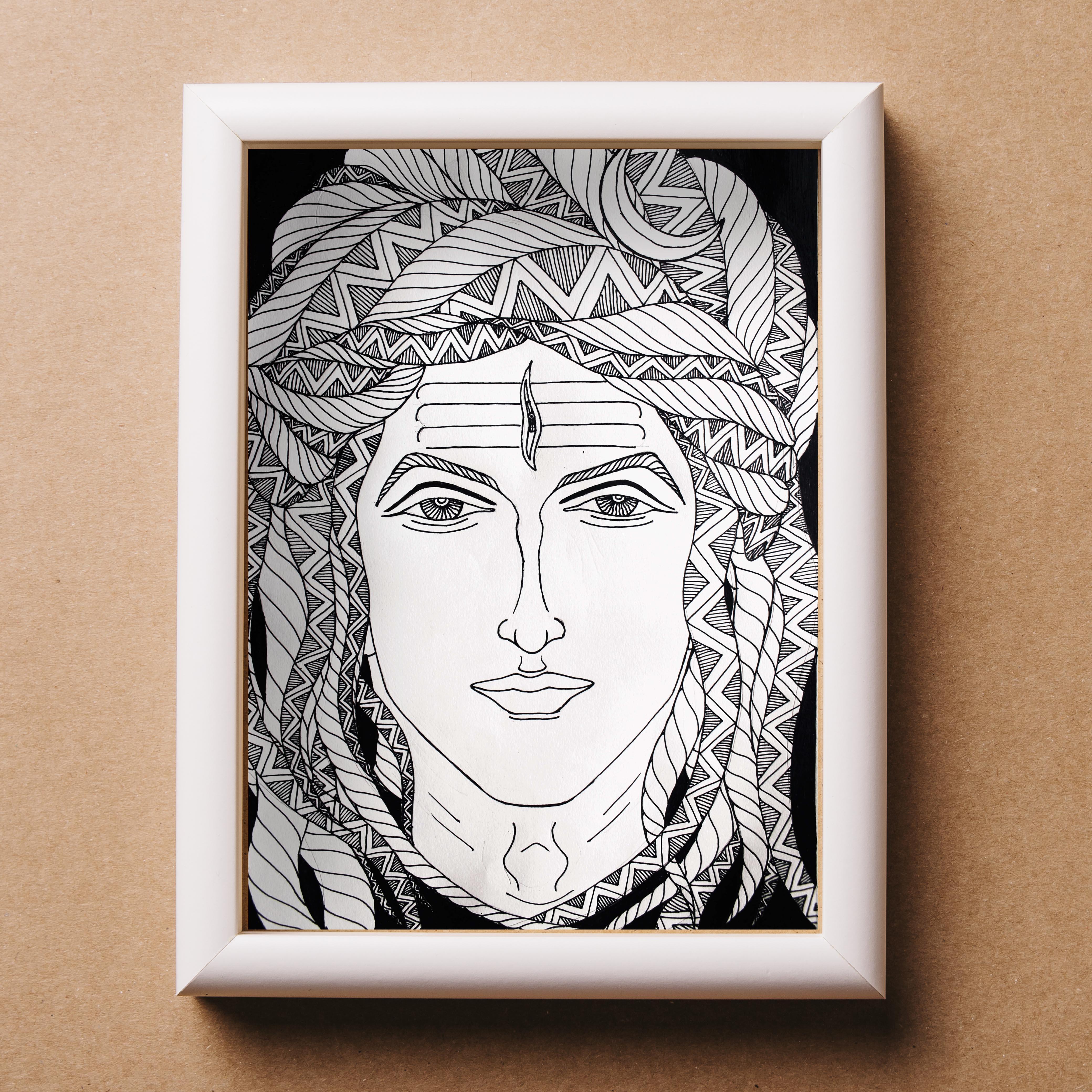 shiva wall art
