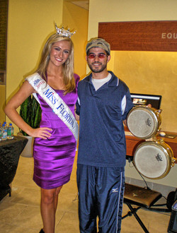 With Miss Florida