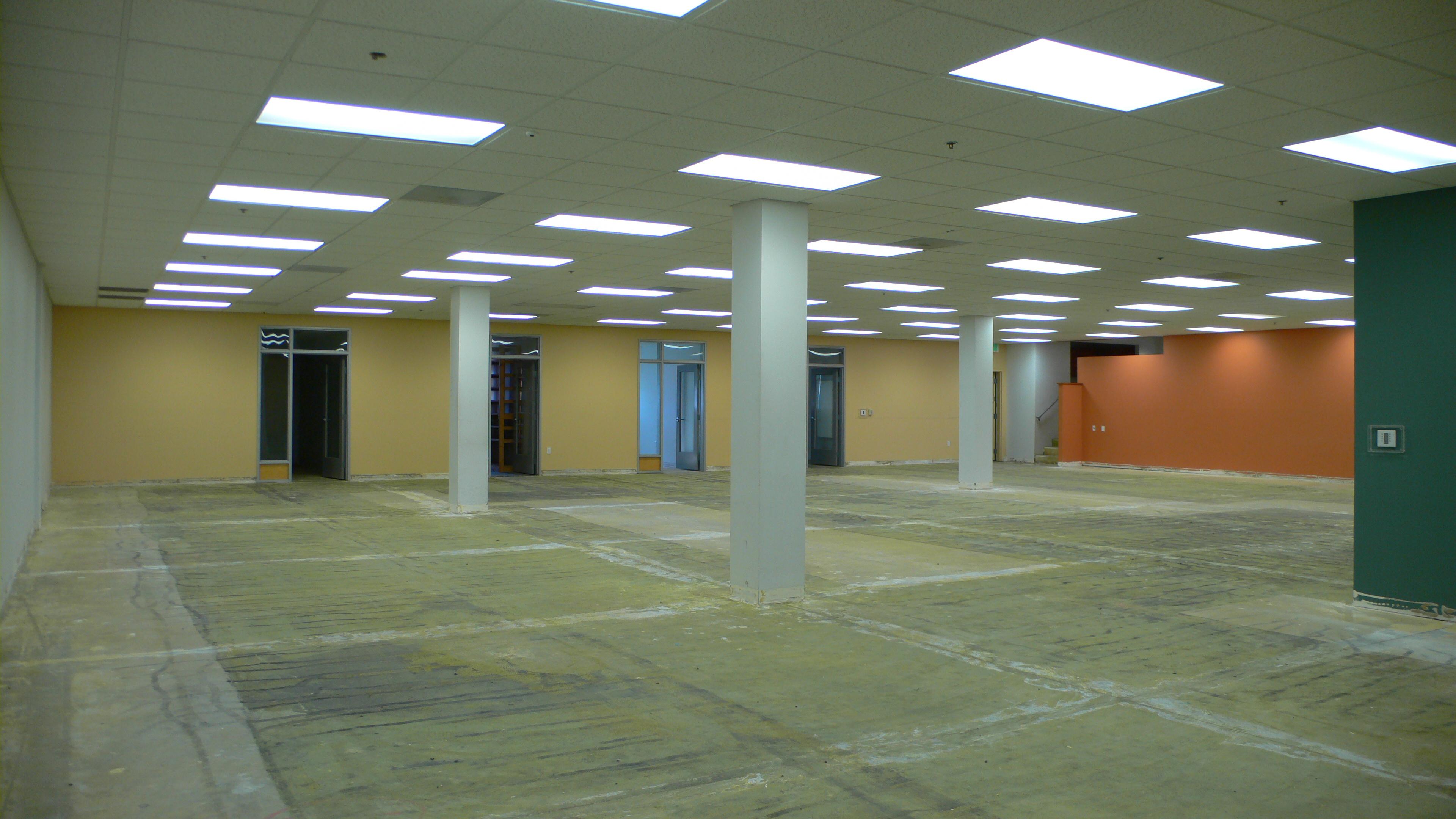 First floor interior