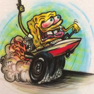 Spongebob Hotrod
