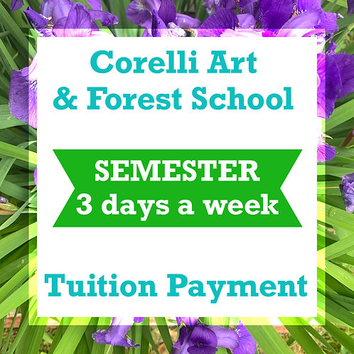 CAFS - Semester Rates - 3 Days a week