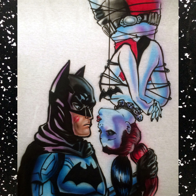Batman and Harley